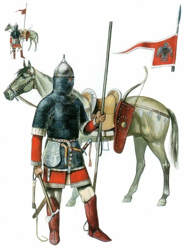 никогда картинки русский воин средневековья для