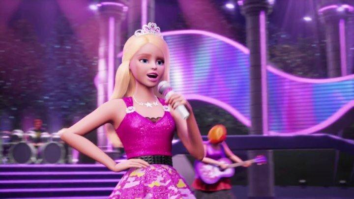 Картинки с мультика барби рок принцесса