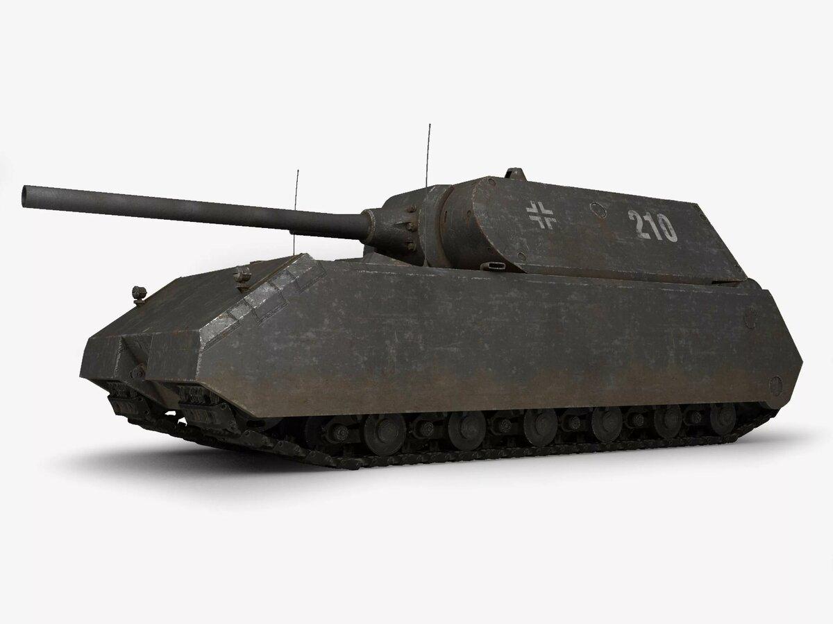 Немецкий танк маус на картинках
