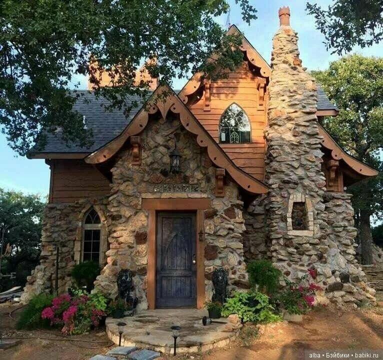 Красивые русские каменные дома фото