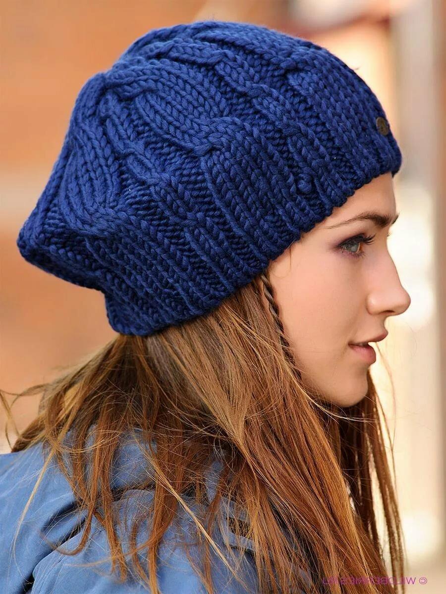 Вязание спицами картинки шапки