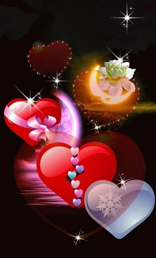 более, новые живые открытки на ночь с сердечками только подскажем