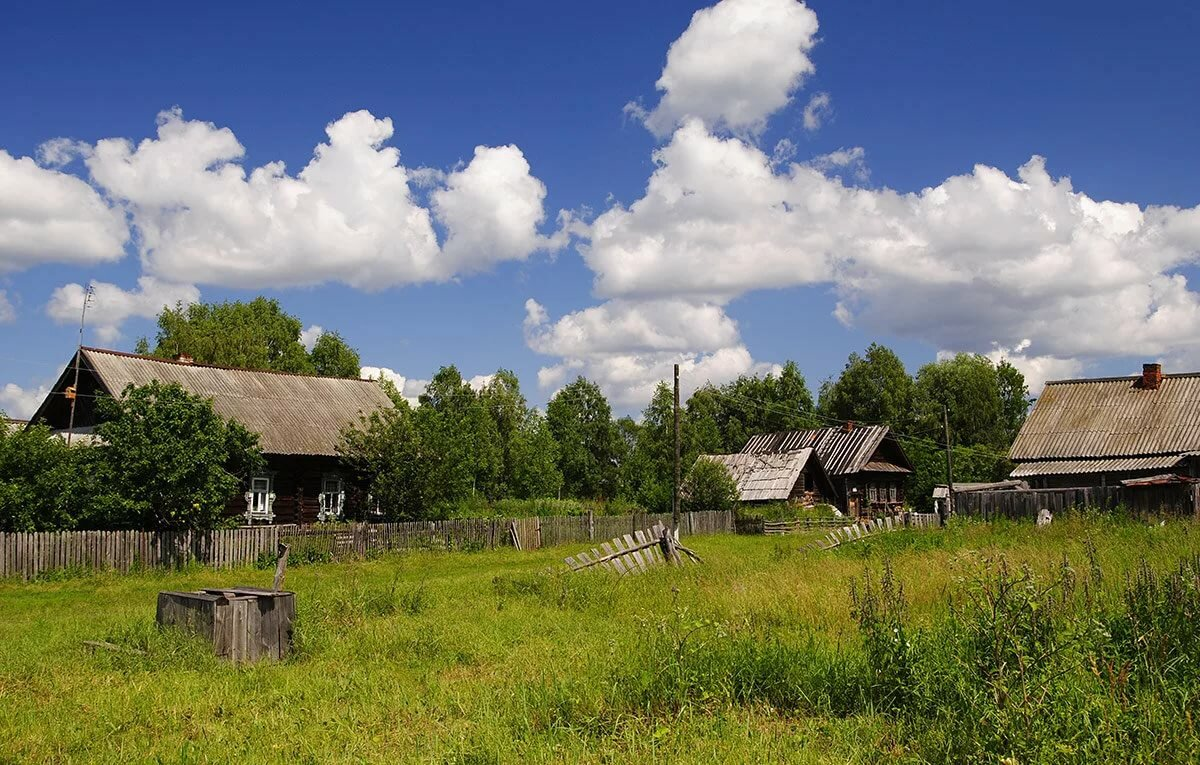 фото деревни бедрицы это красивейшие ландшафты
