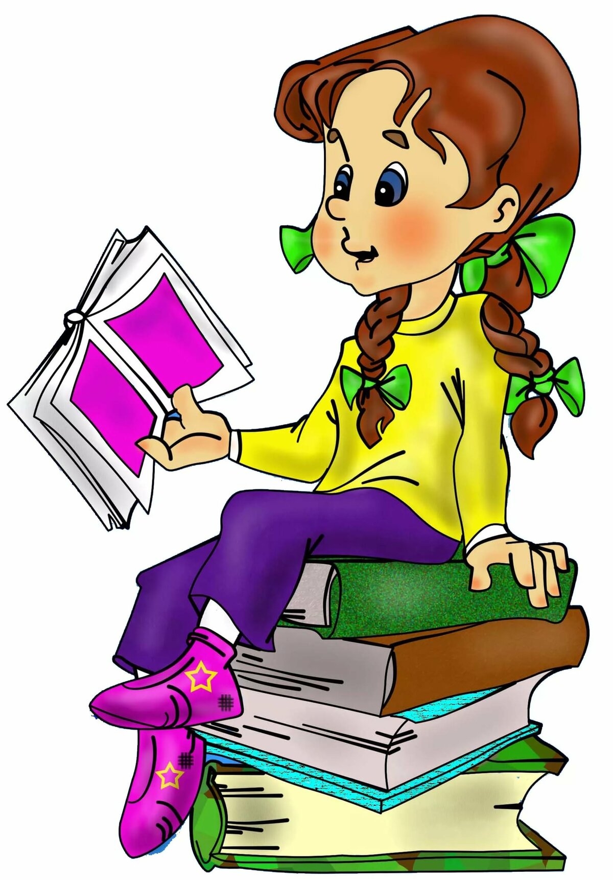 Отзывы в картинках для школьников