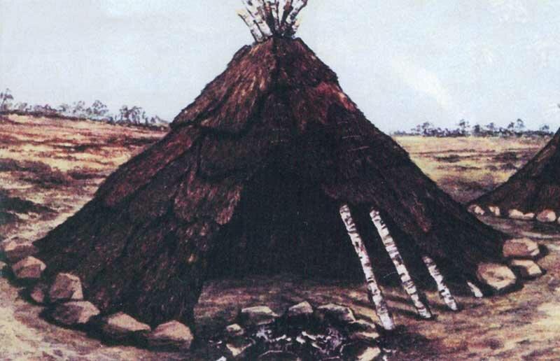 Картинки дома древних людей