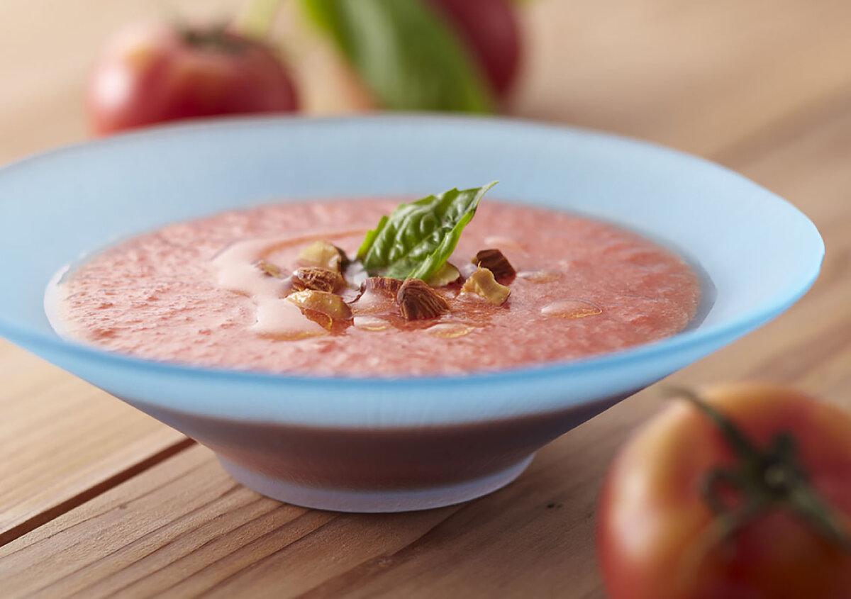 Холодный суп гаспачо рецепт с фото пошагово