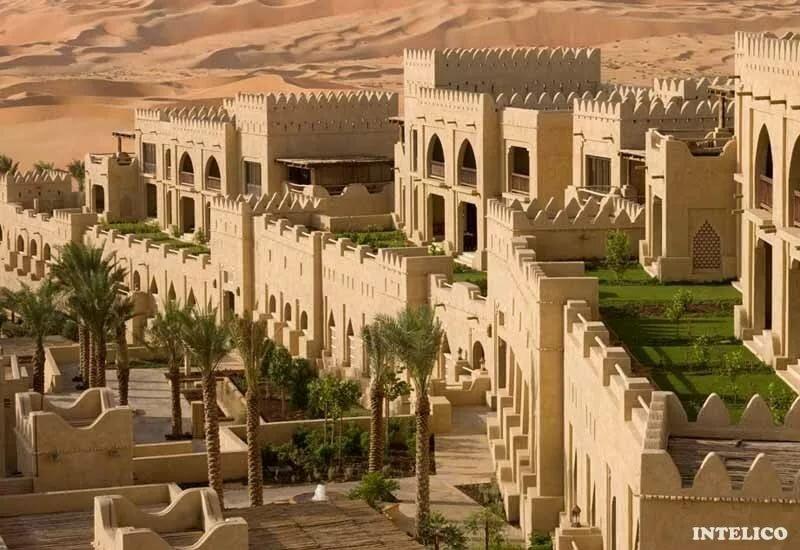 флирта, картинки города в пустыне просто