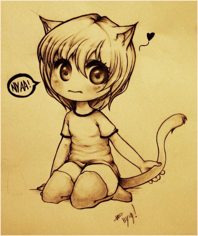 Коты люди картинки для срисовки