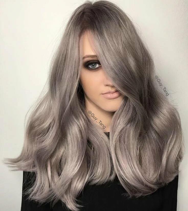 картинки темно серые волосы можно нарядить обычный