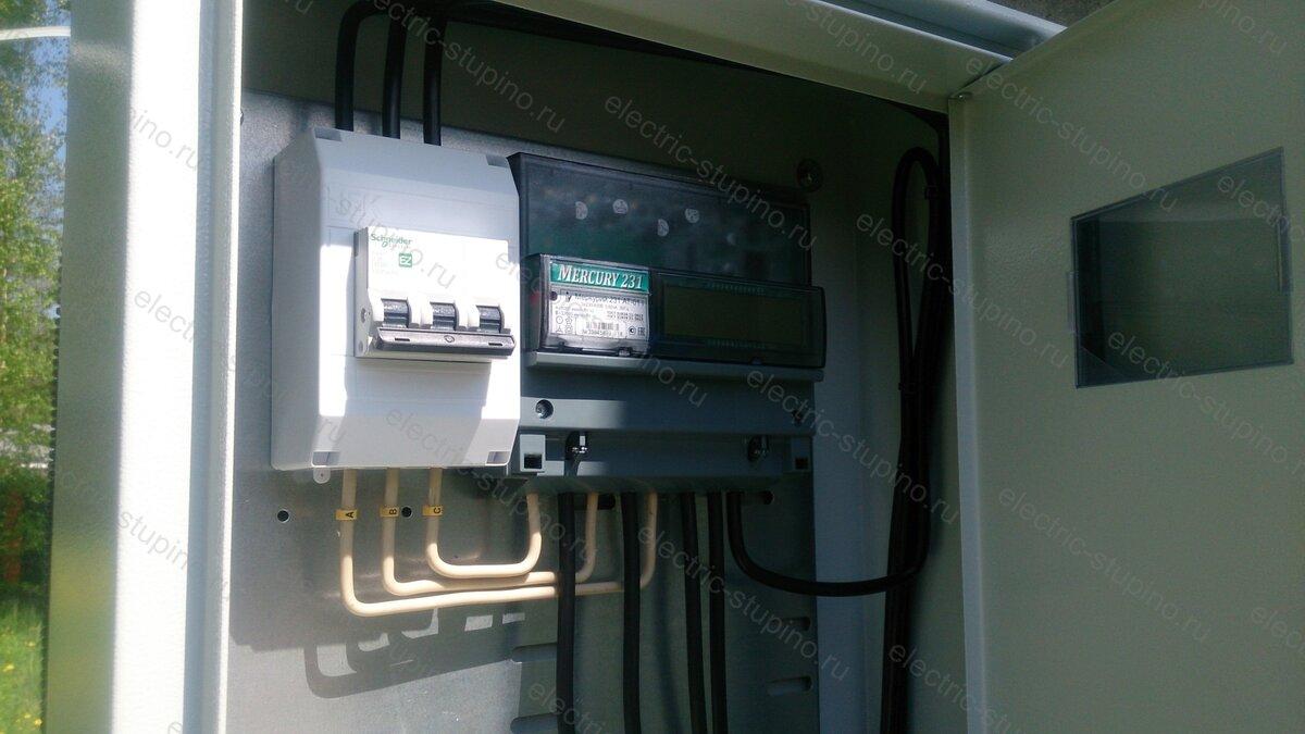 Подключение 15 кВт в д. Тростники Ступинский район