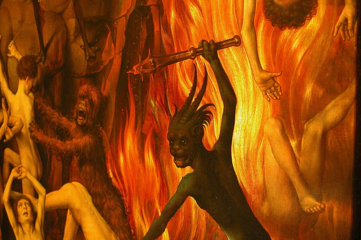 Душа в аду картинки