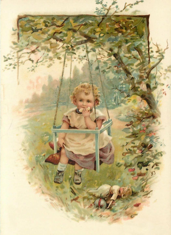 почтовые открытки с детьми уже много-много