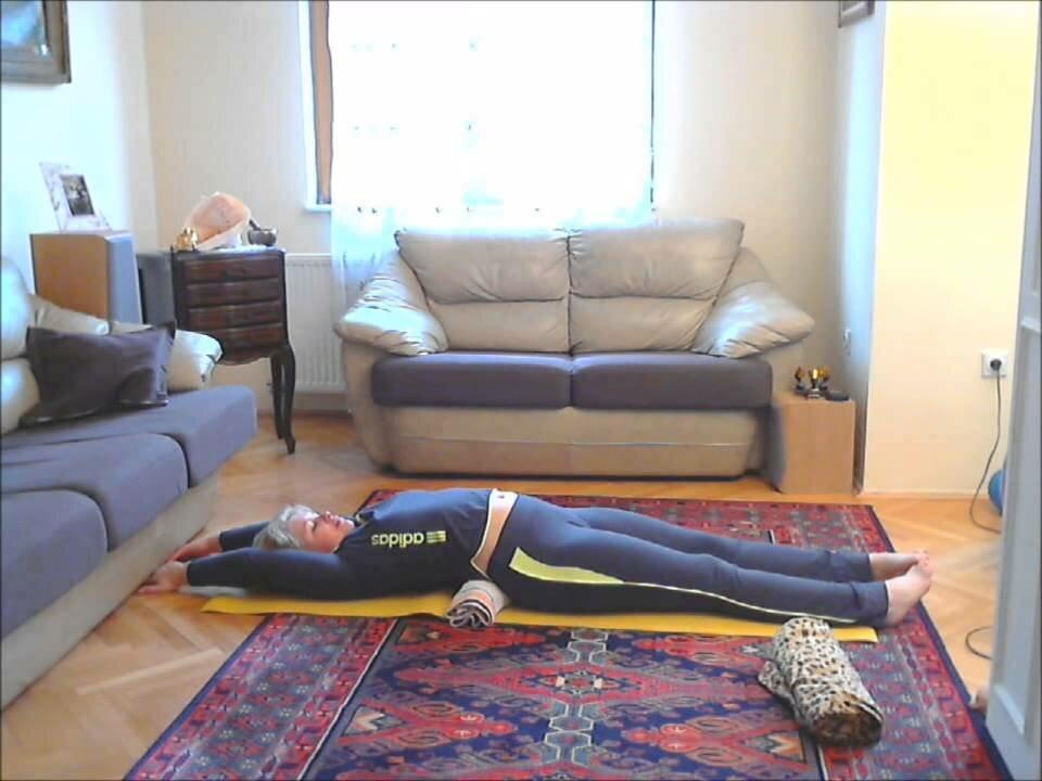 Японское упражнение для похудения видео