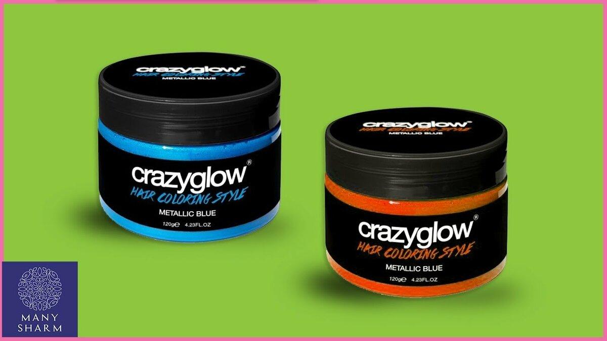Crazyglow - крем для окрашивания волос в СергиевомПосаде