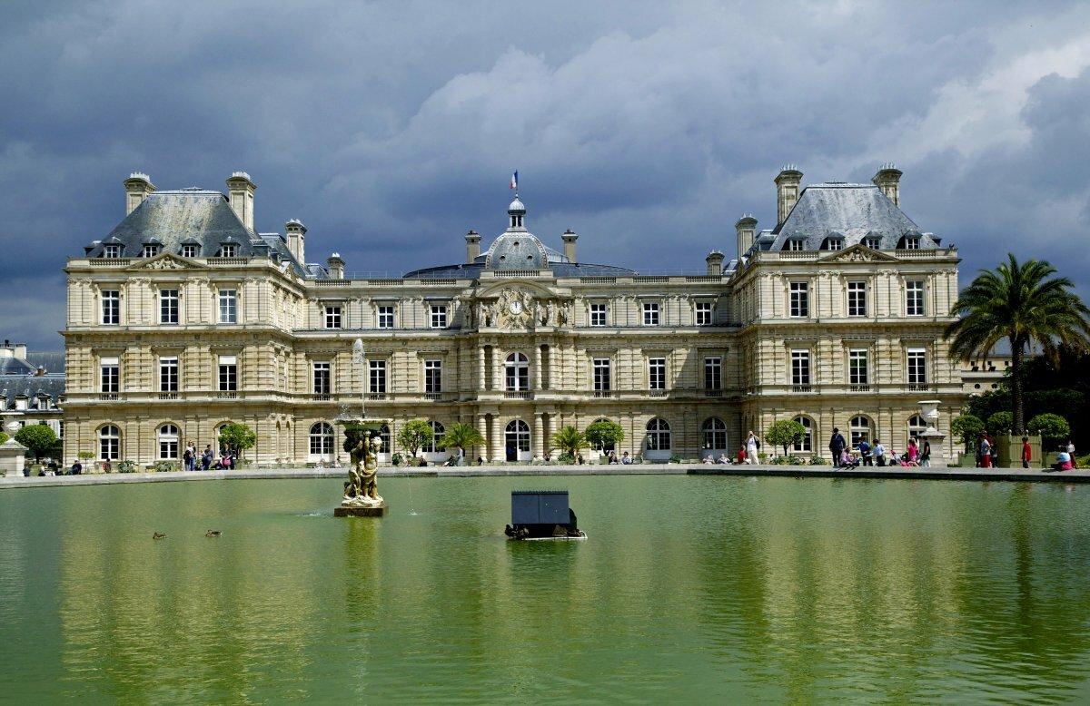 замки и дворцы франции картинки