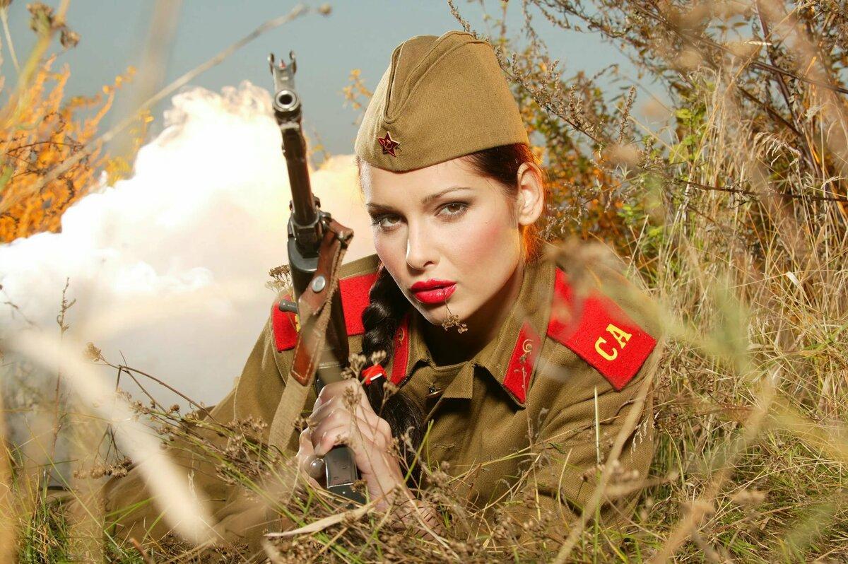 Прикольные картинки девушек военных, умников