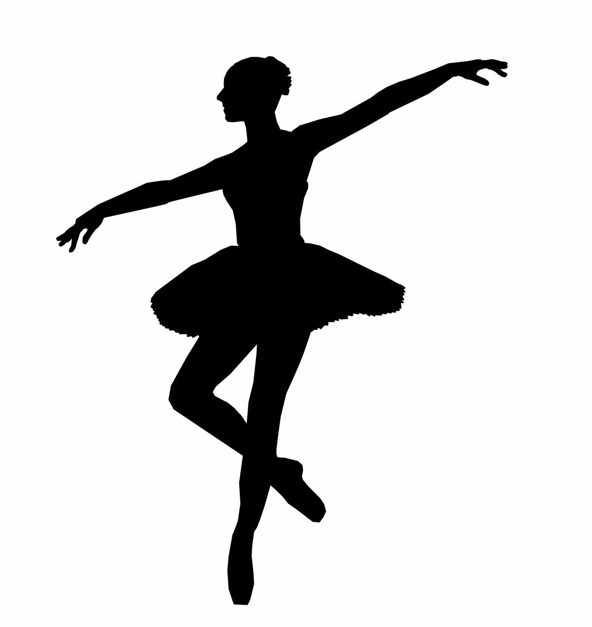 регионах картинки силуэтов балерин рослини