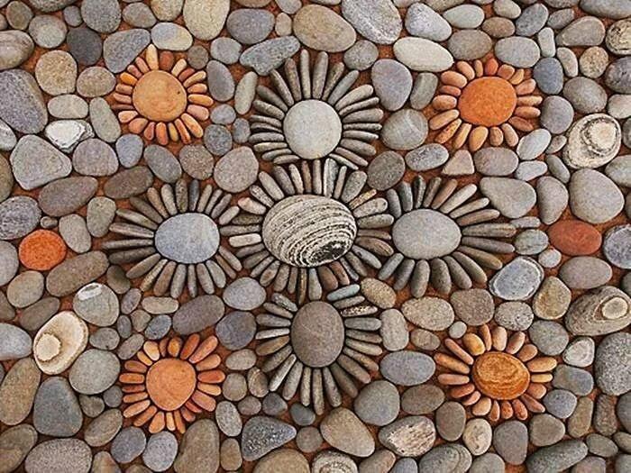 Картинки выложенные из камня