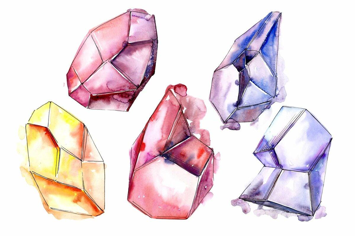 картинки кристаллов поэтапно память жегалова представляет