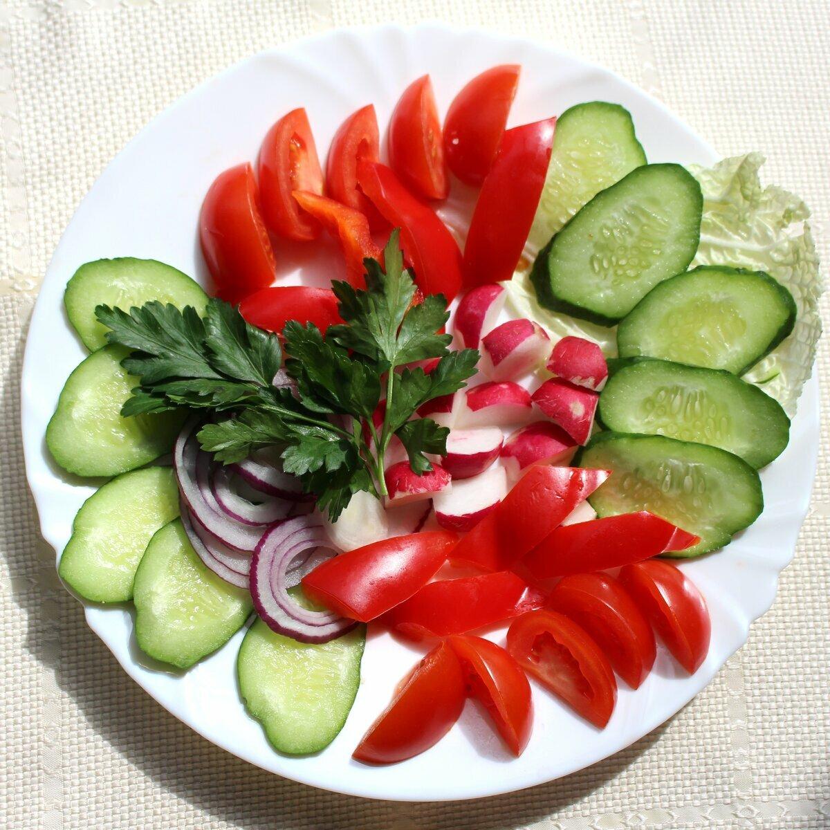 этом говорится овощная нарезка пошаговое фото приготовления данной