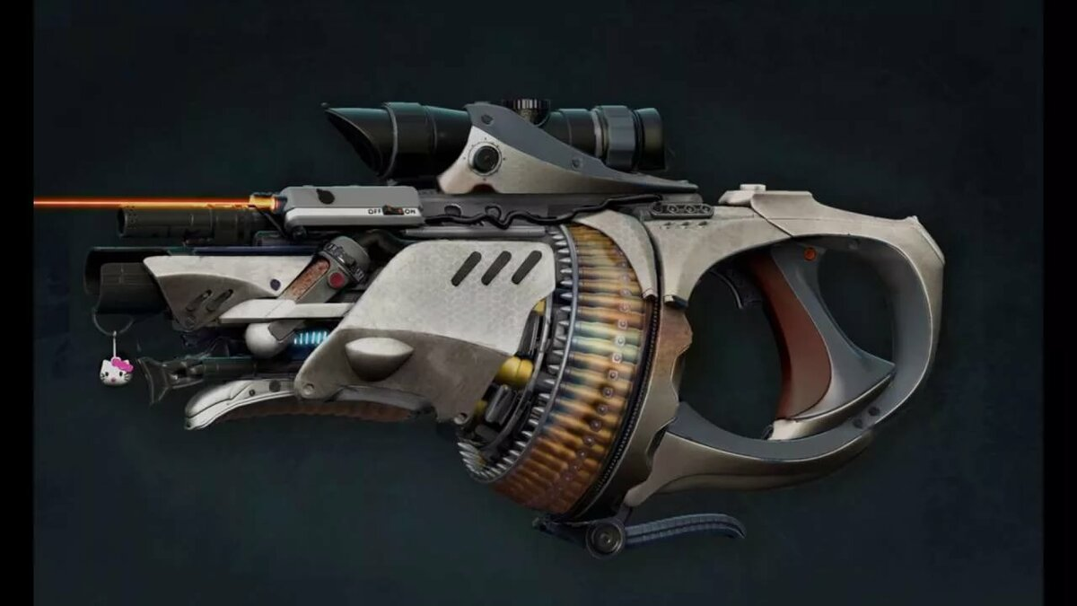 Футуристические картинки оружия