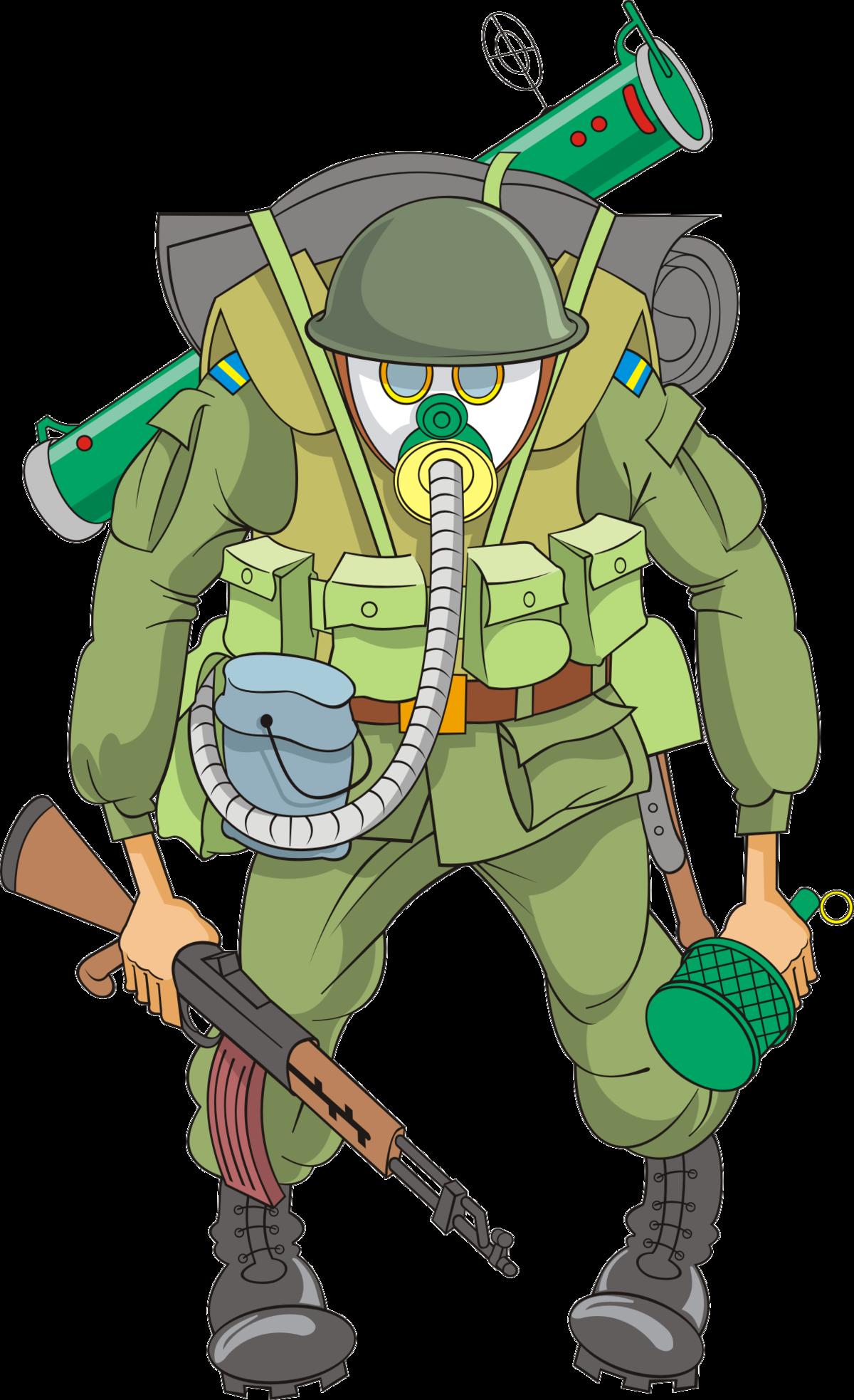 бужинский прикольный рисунок военного дарили подарки