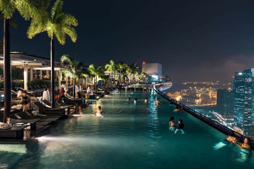 фотографии с видом отеля в сингапуре картинкам прилагается