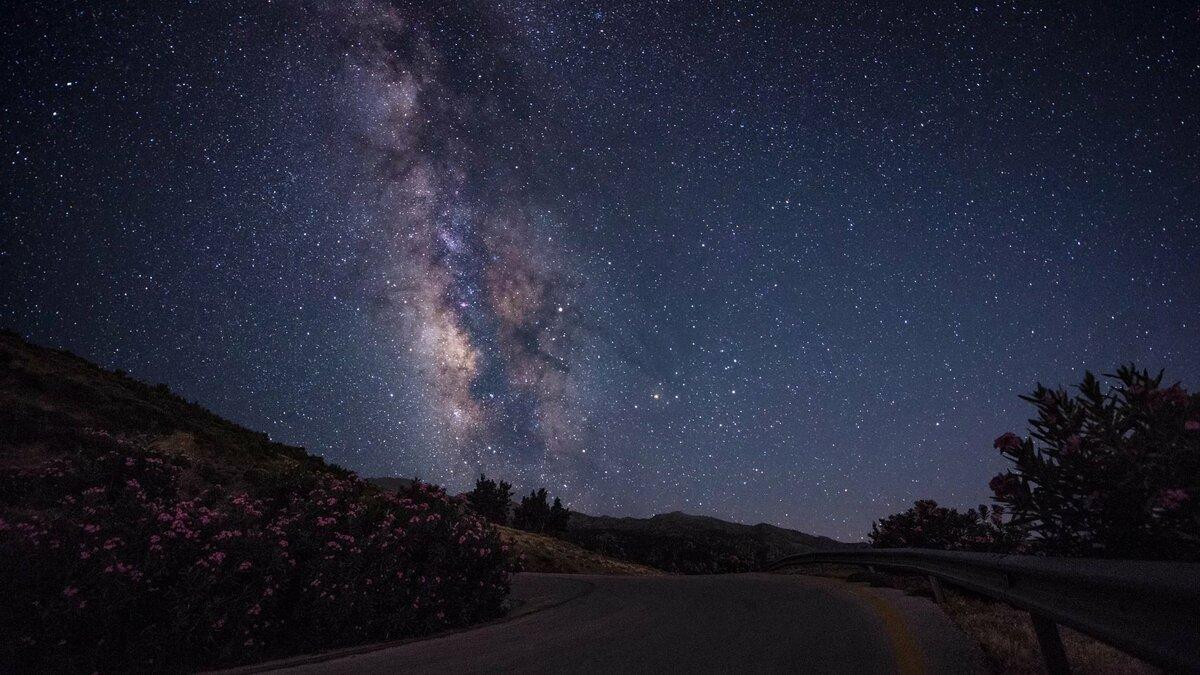 фото звездное небо на рабочий стол что