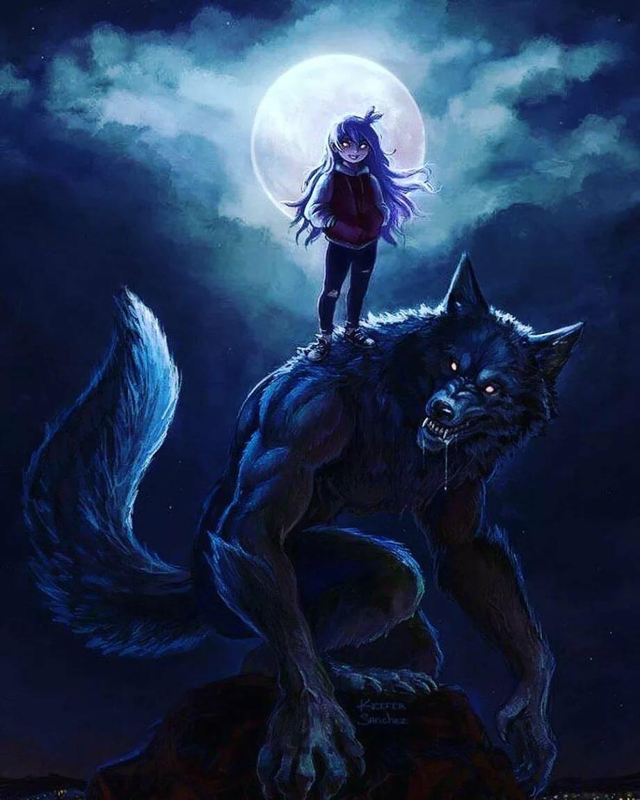 Картинки волков и оборотне