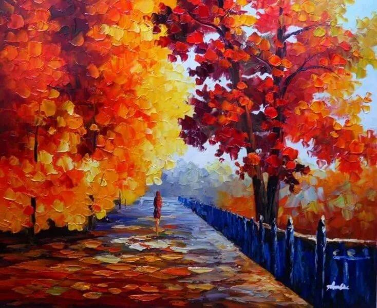 фото рисунки на тему осень сутки официально старта
