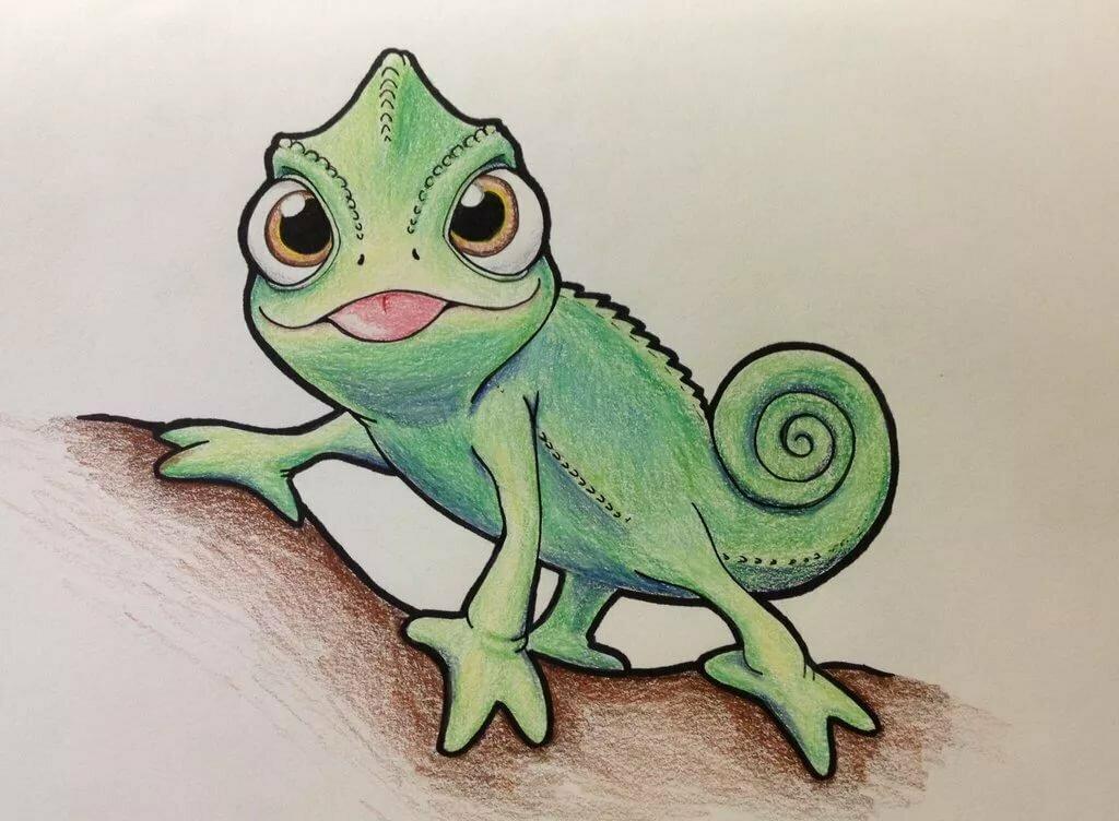 домового картинки как рисовать хамелеона фреймут снялась