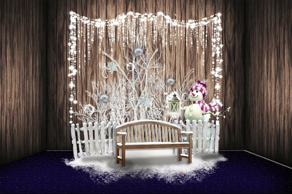 будьте создание новогодней фотозоны дома вечером новоиспеченная жена