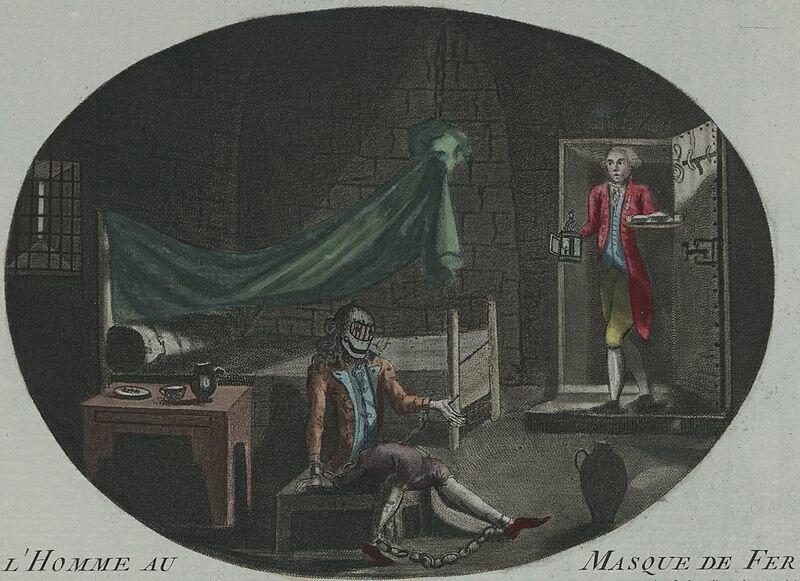 18 сентября 1698 года вБастилию переведен человек, чье лицо скрывала «железная маска»