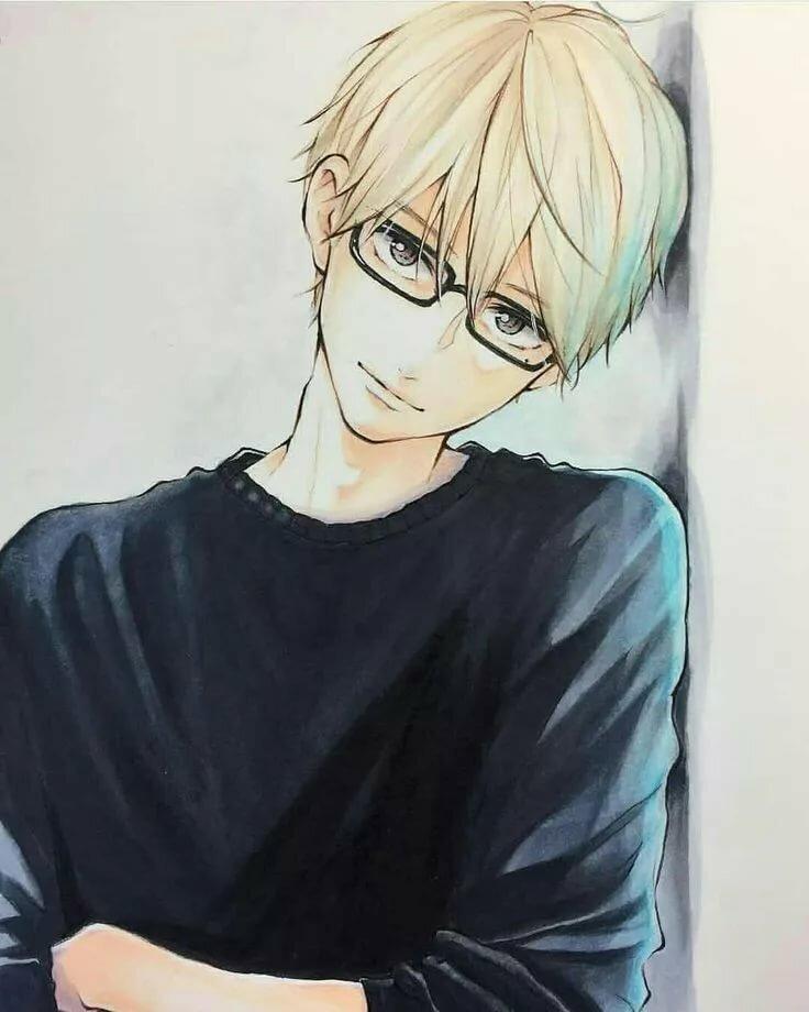 Картинки блондин в очках
