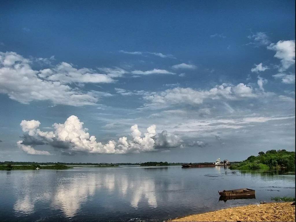 Река волга фотографии