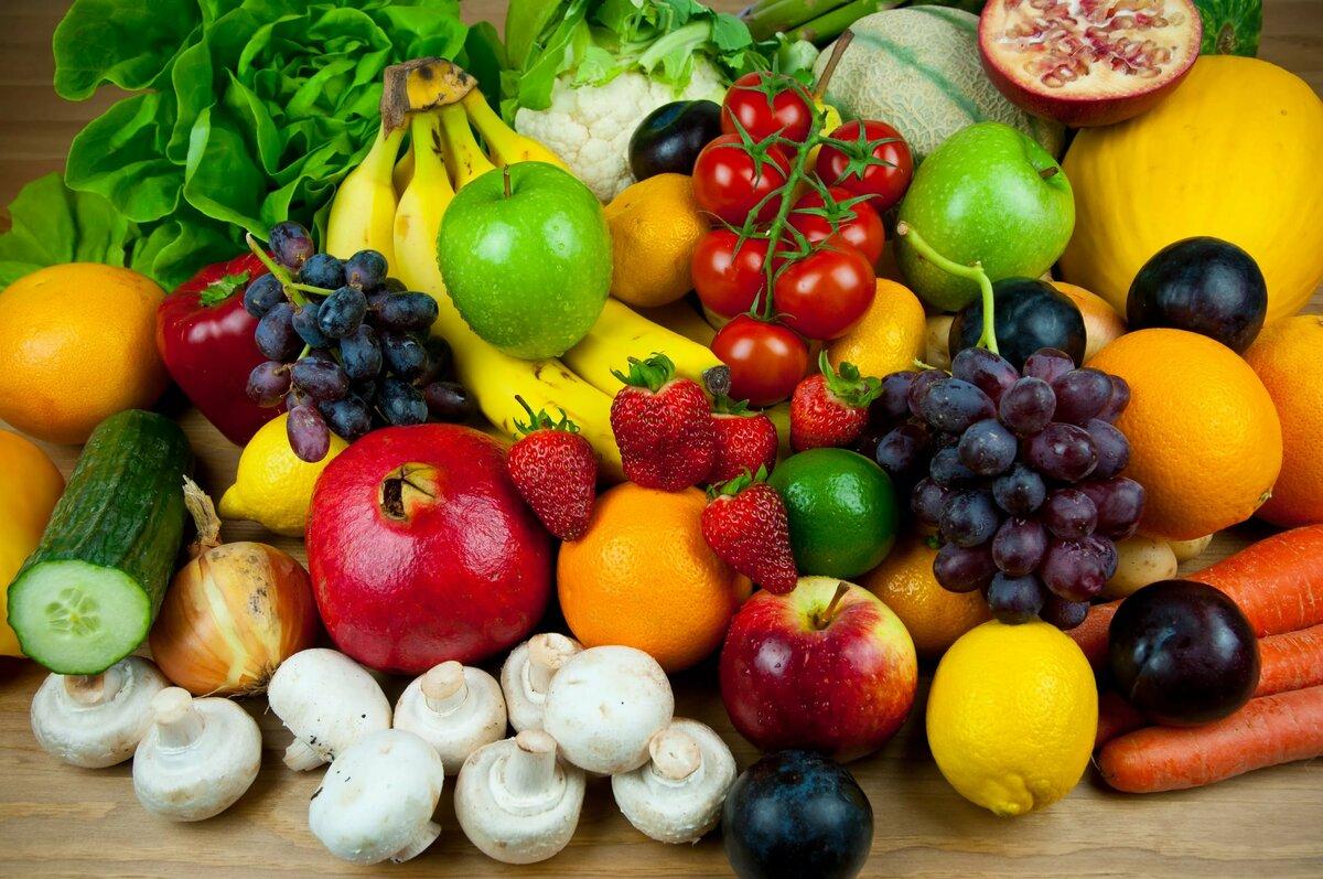 Днем рождения, картинки с ягодами фруктами и овощами
