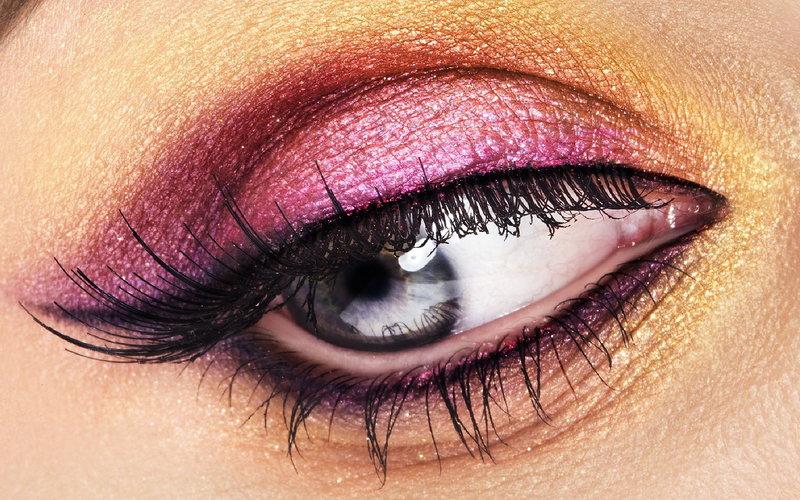 макияж глаз