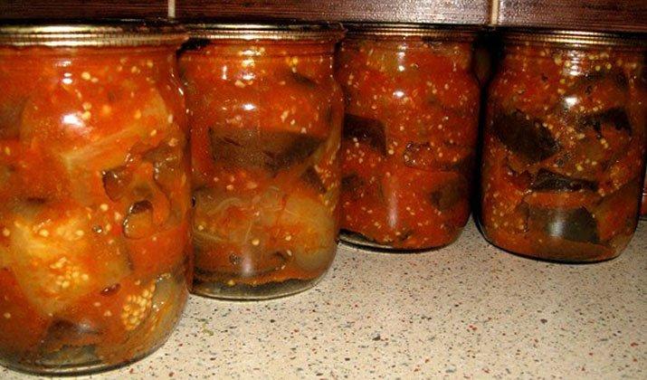 консервация синих на зиму рецепты с фото