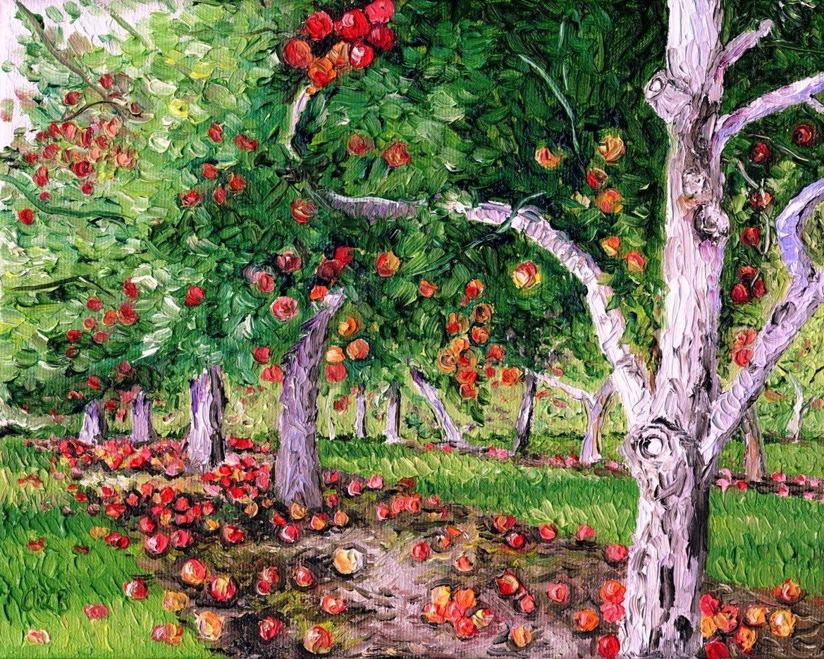 нетрезвые картинка фруктового сада без фруктов собраны только