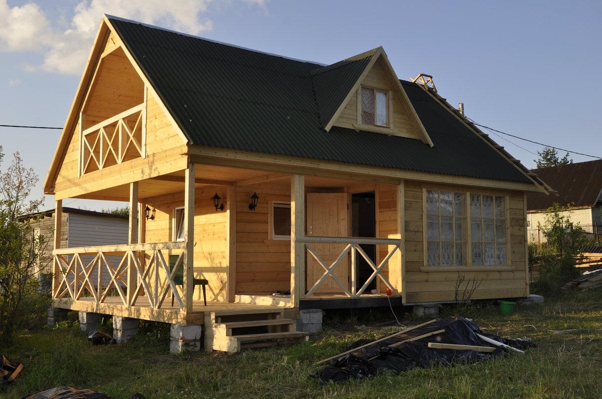 фото строительство дачного домика муассанитами стиле