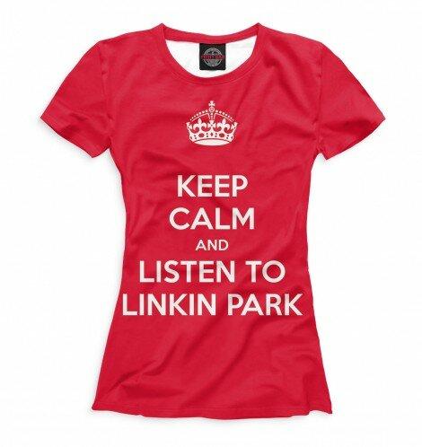 Футболка для девочек Linkin Park