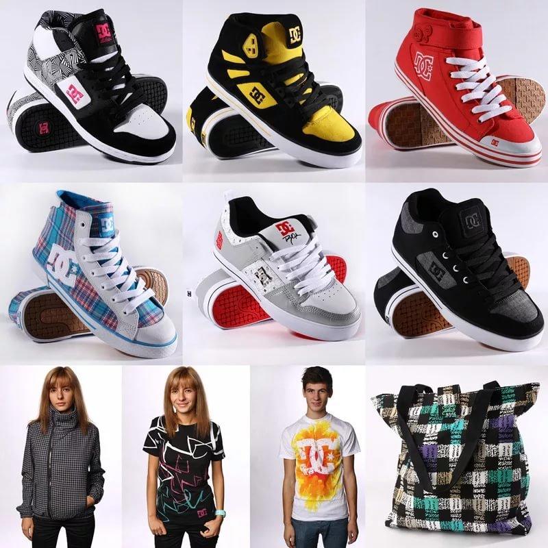 Мужская и женская одежда и обувь