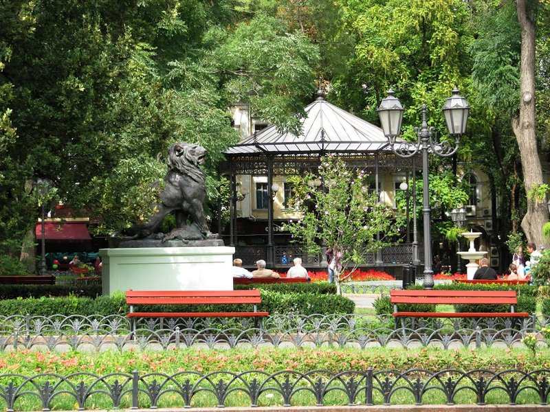 Городской сад Одессы.