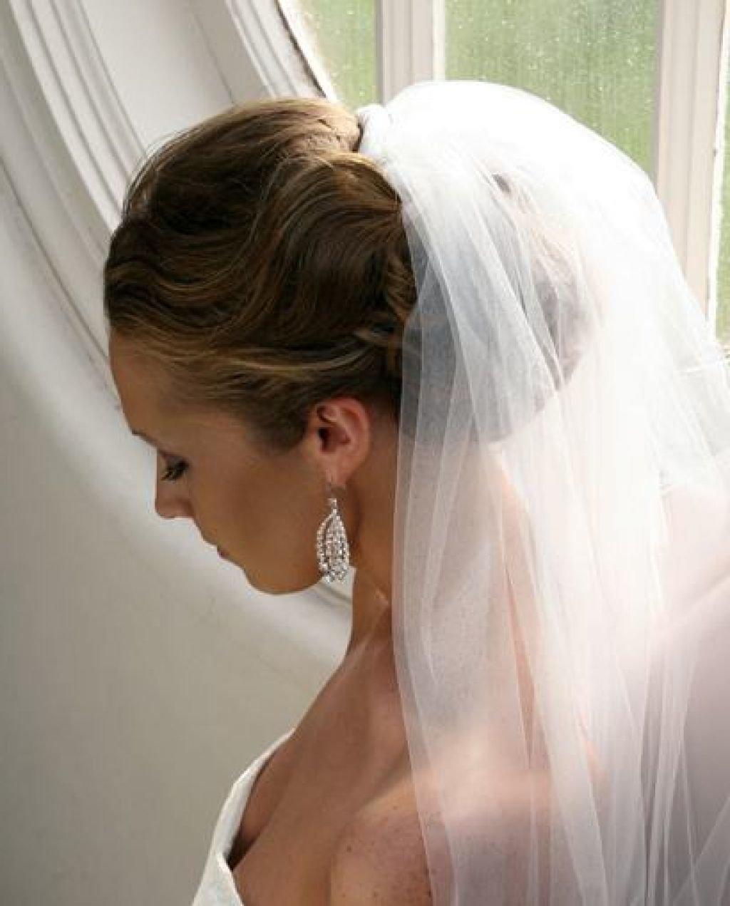 особое свадебные прически пошаговое фото под фату красиво
