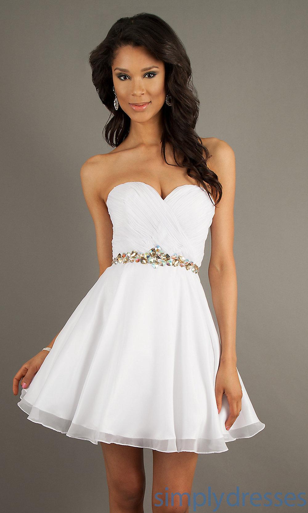Короткое платье в картинках
