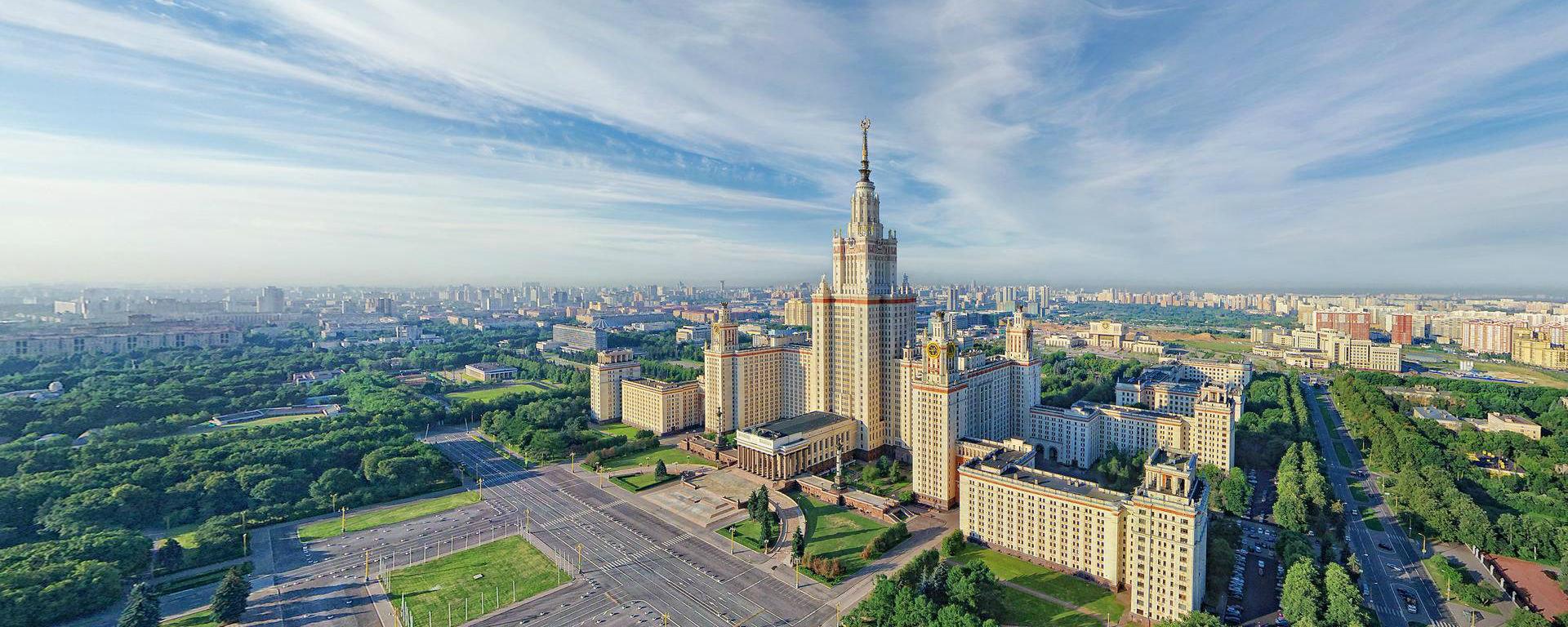 фото московские высотки
