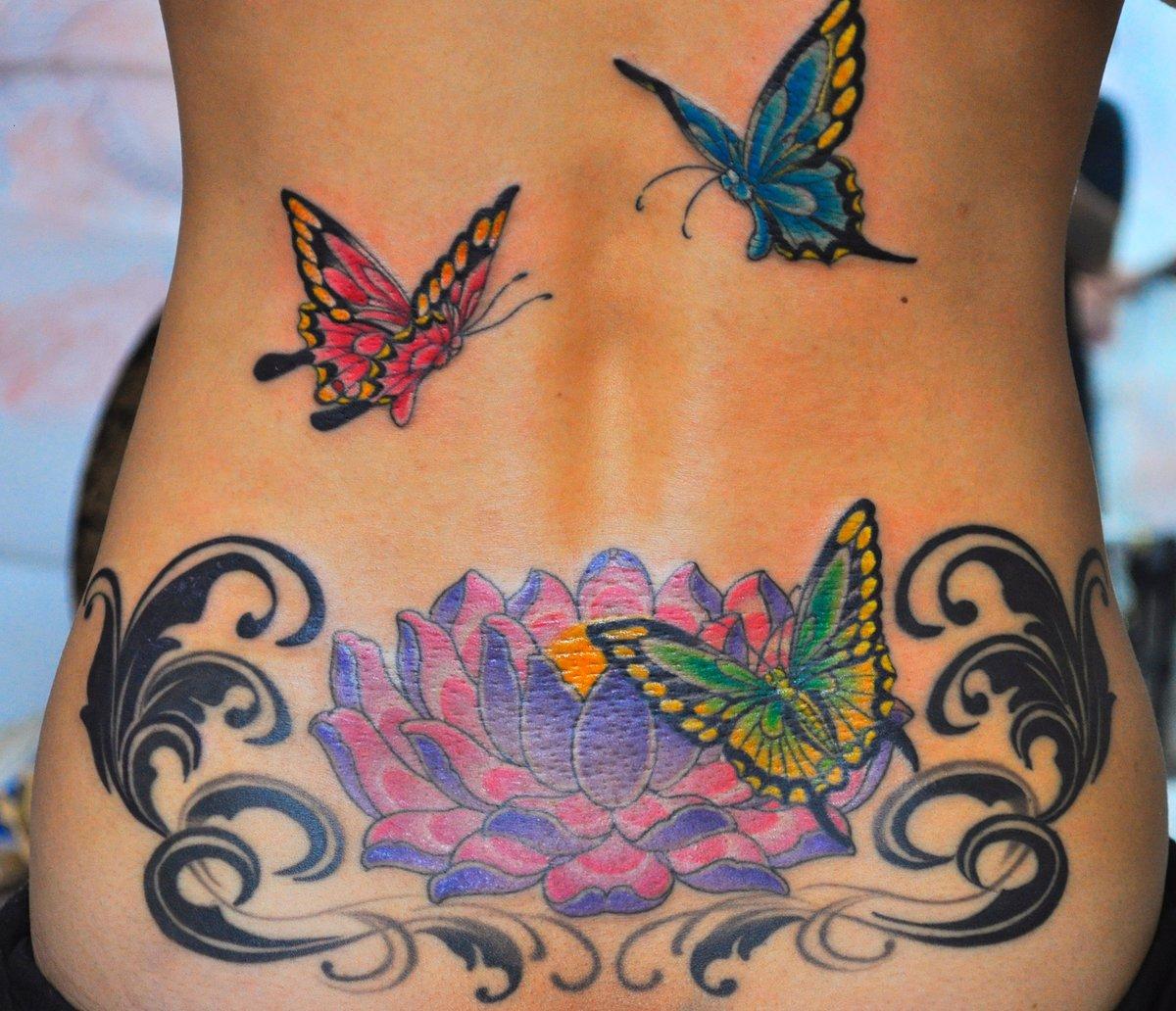 помогают улучшить фото цветных татуировок на пояснице бытом