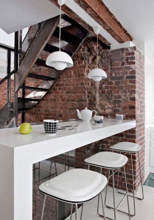 Выбирая барные стулья для кухни, помните, что они должны гармонировать с тем стилем, в котором вы оформили интерьер.