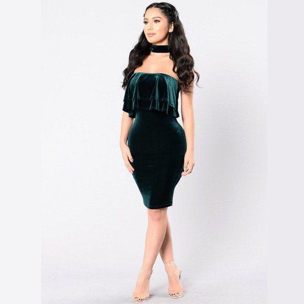 Красивые модные фасоны платьев