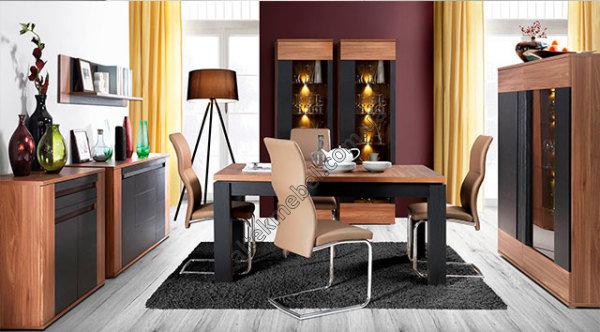 мебель для гостиной Forte польша модульная гостиная Latina